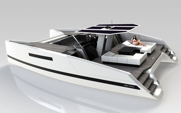 Aluminum catamaran power boat plans | buat boat