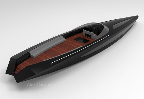 AC Motorboat by Alex Casabo