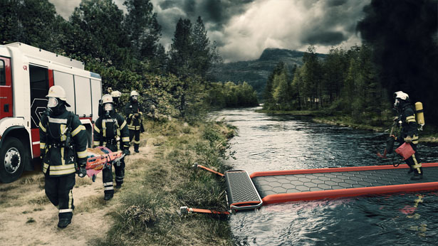 ACCESS - Emergency River Crossing by Simeon Ortmüller