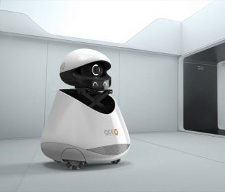 Cute Accel Robotics Smart Retail Assistant Provides Shopping Behavior Analysis to Retailers