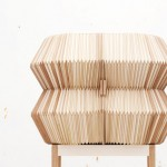 Accordion Cabinet by Elisa Strozyk