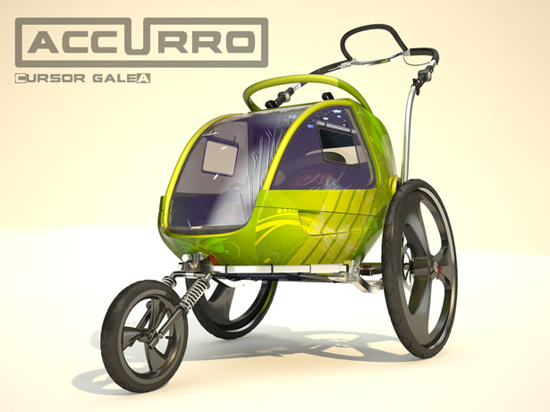 Accurro Baby Stroller by Ciprian Andrus