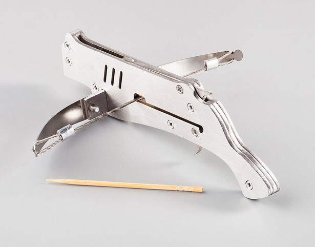 Ace Sniper – Mini Crossbow That Shoots Toothpicks - Tuvie