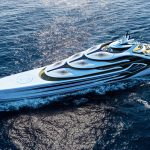 Hydrogen Powered Acionna Cruising Megayacht Concept for Zero-Emission Luxury
