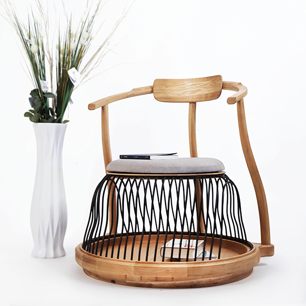 Acorn Multipurpose Leisure Chair by Wei Jingye, Chen Yufan, Wang Ruilin and Jia Zhuohang