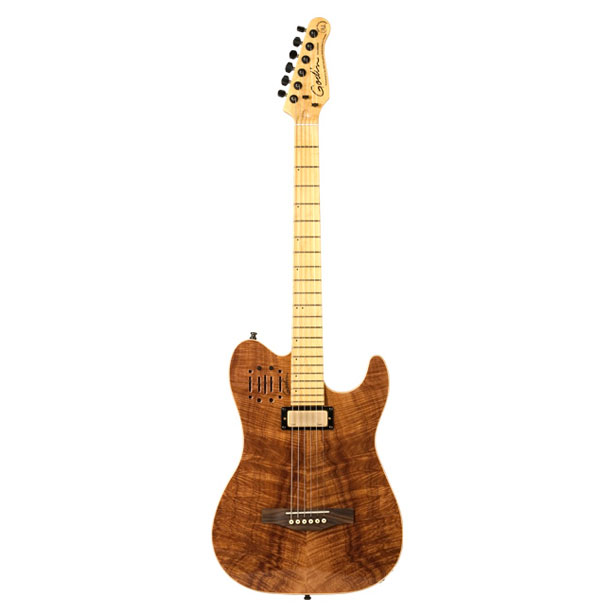 Acousticaster : Electro-Acoustic Hybrid Guitar by Godin Guitars