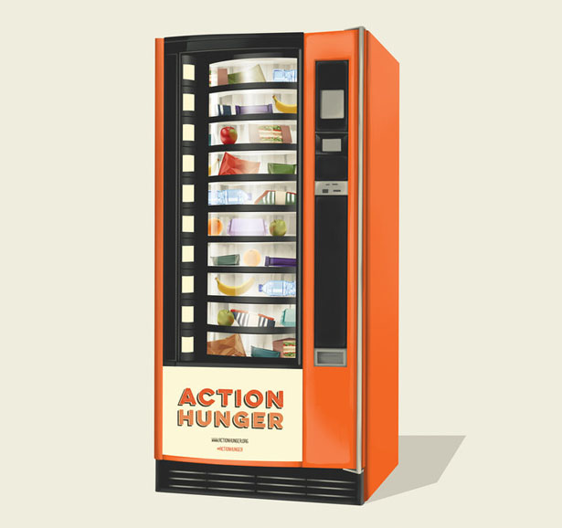 Action Hunger Vending Machines for Homeless