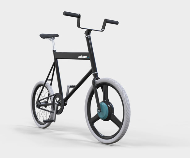 Adam Student e-Bike by John Kock, Niels Caris, Coline Jarry, and Stijn Kroeze