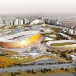 Future Addis Ababa National Stadium and Sports Village in Ethiopia