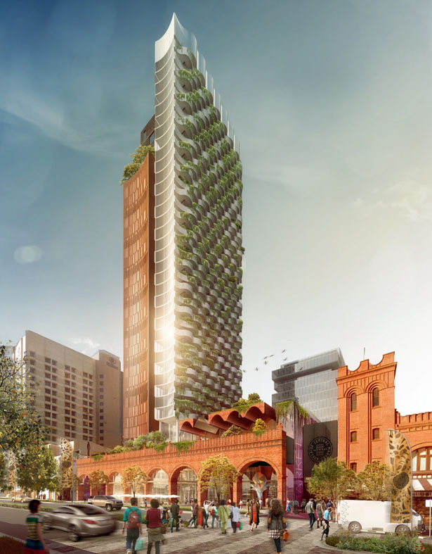 Winning Scheme of Adelaide's Central Market Arcade Redevelopment