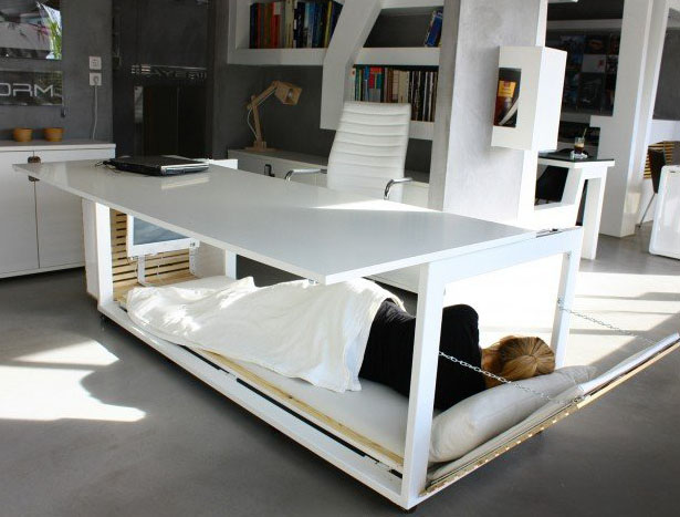 A'Design Award and Competition - 1, 6 S.m. of Life/Desk Convertible to Bed by Athanasia Leivaditou