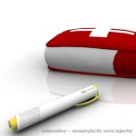 Adrenalina Auto Injector Concept for Anaphylaxis Sufferers