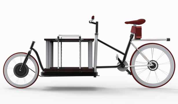 Adroit Cargo e-Bike Makes Carrying Goods a Hassle-Free Experience