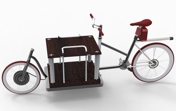 Adroit Cargo Bike by Vimalesh R. Mallya and Srinidhi Sreenivasan
