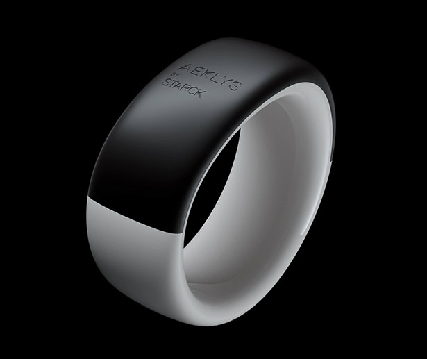 Aeklys by Starck Smart Ring for Icare Technologies