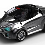 Aeolus Hybrid Subcompact Vehicle : City Car Concept For The Future