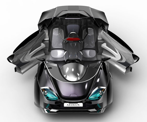 Aeolus Hybrid Subcompact Vehicle by Yuhan Zhang