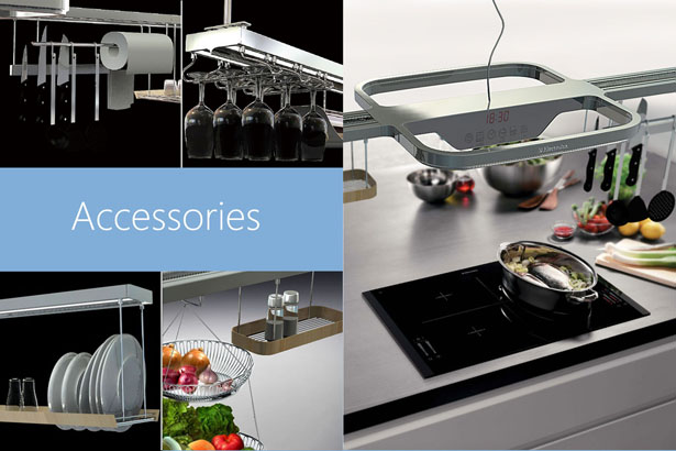 Aeolus Multi-Functional Modular Air Purify System For Kitchen