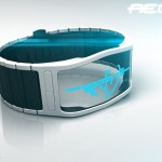 Aeon Transparent LCD Watch by Samuel Jerichow