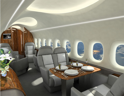 future supersonic business jet