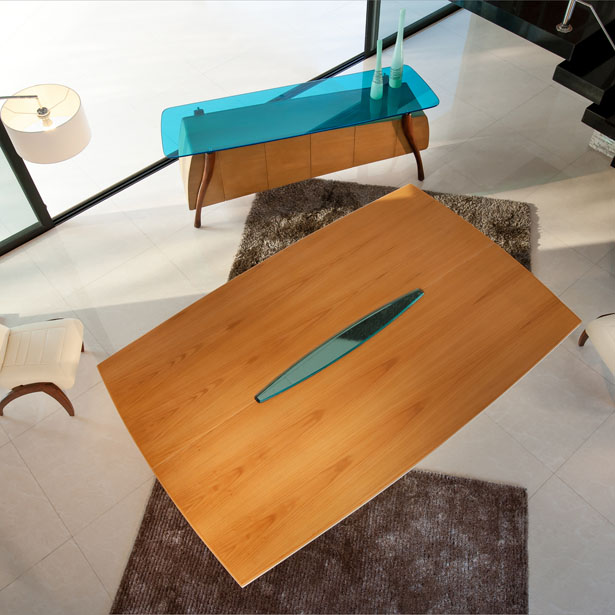 Aero Dining Table by Gerardo Rios Altamirano