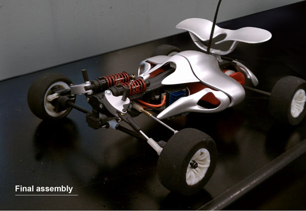 Aero RC Car by James Cha Design