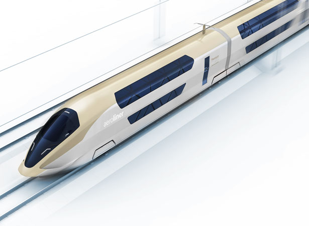 AeroLiner3000 Concept Train by Andreas Vogler