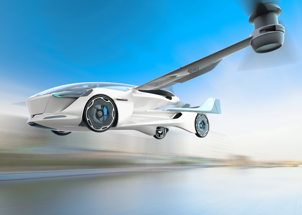 AeroMobil 5.0 VTOL Concept Flying Car - Urban Sharing Vehicle - Flying Taxi