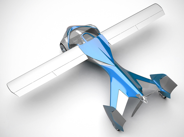 Aeromobil Flying Car with Collapsible Wings Fits Any Standard Parking Space