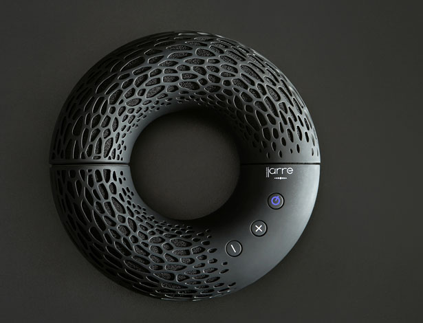 AeroTwist Portable Bluetooth Speaker by Kateryna Sokolova