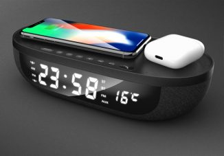 Multi-functional Affordance Alarm Clock Concept Features Qi Wireless Charger