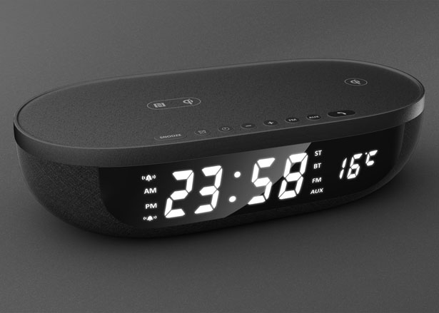 Affordance Alarm Clock by Fang-Chun Tsai