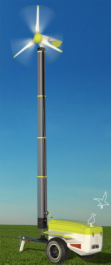 Agro E.Sustentable Wind Generator Features Brilliant Functionality with Ease of Operating