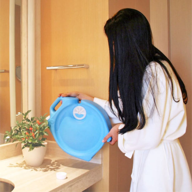 Aguawell Water Saving Container