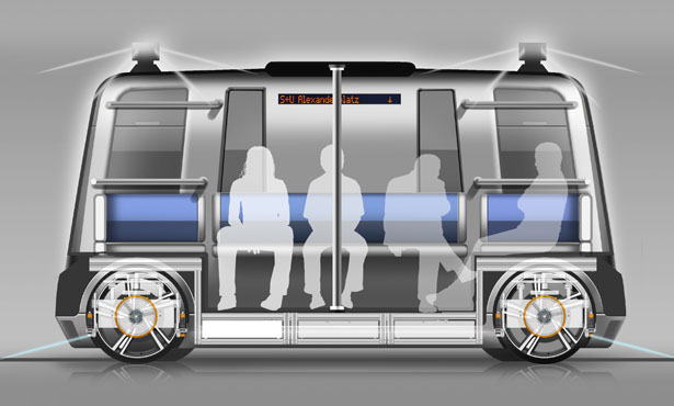 AGV Shuttle Bus by Vincent Chan