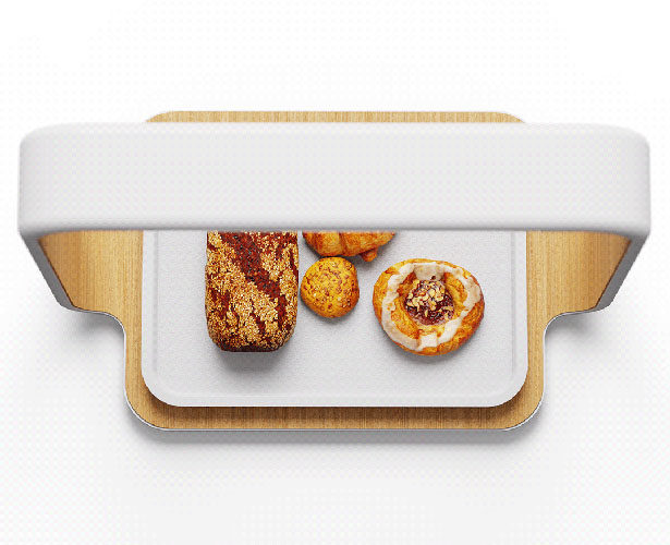 AI Scanner Concept for Bakery Store by Deokhee Jeong