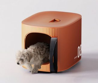 AIR Cage – Air Plane Pet Cage Service Design with Built-In Camera