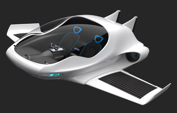 Air-Elf Aircraft Concept Is Able to Take-off or Land Vertically