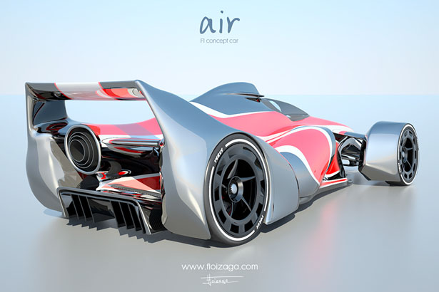 Air - F1 Concept Car by Floren Loizaga