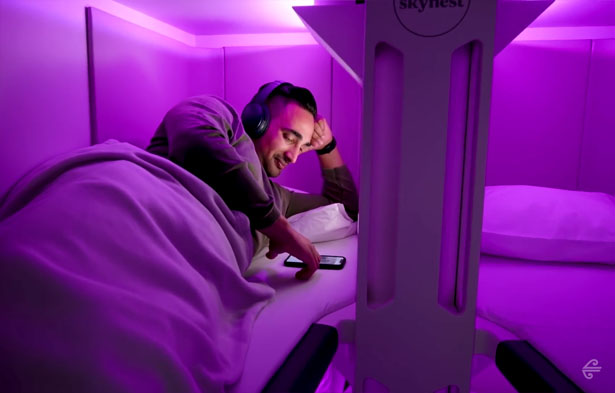 Air New Zealand Unveils Skynest - Sleeping Pods for Economy Class Travelers