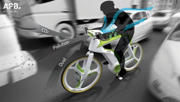 Air Purifier Bike by Lightfog