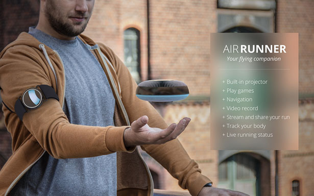 Air Runner for Joggers by Indeed Innovation