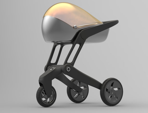 Air Shield Baby Stroller by Dominykas Budinas