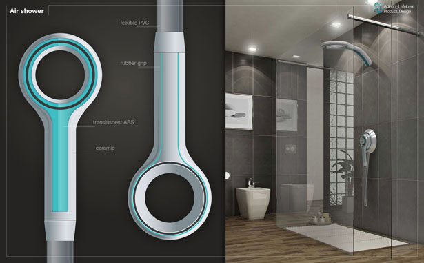 Air Shower Washer And Dryer Shower System Reduces Bath Towel Washing Tuvie