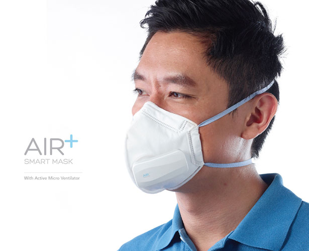 Air Plus Smart Mask by Stuck Design