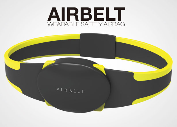 Airbelt : Wearable Safety Airbag by Rich Park