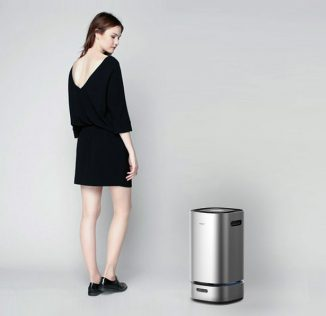 AIRBOT Smart Air Purifier Moves Around Your House Where It's Needed The Most