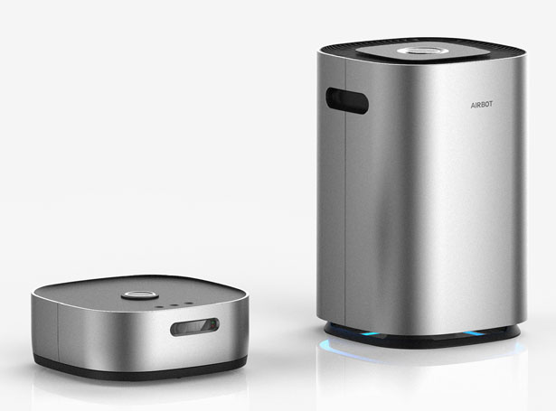 AIRBOT Air Purifier and Vacuum Cleaner in One by Heewong Chai
