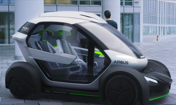 9 Seater Car >> Futuristic Airbus Pop.Up Modular Electric Vehicle Is Designed to Relieve Traffic Congestion - Tuvie