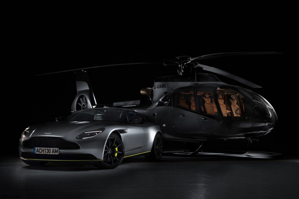 Airbus x Aston Martin ACH130 Helicopter